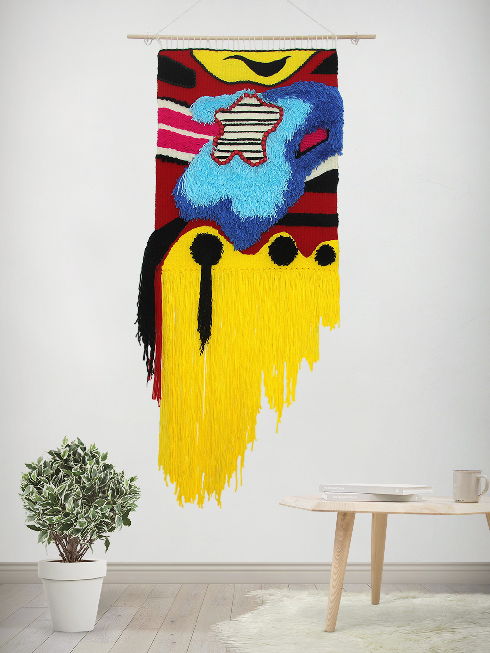 Marc Jacobs FW14 Weaving Wall Hanging - Shop at DipDipLoom